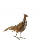 Metal pheasant